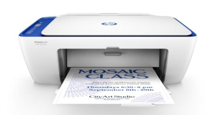 HP 2622 Wireless Printer review of full specs