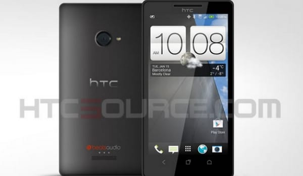 HTC M7 visual shows classy 2013 design