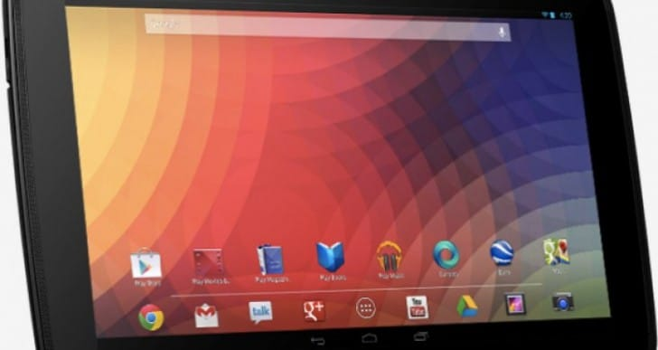 Nexus 10 specs list desire from HTC