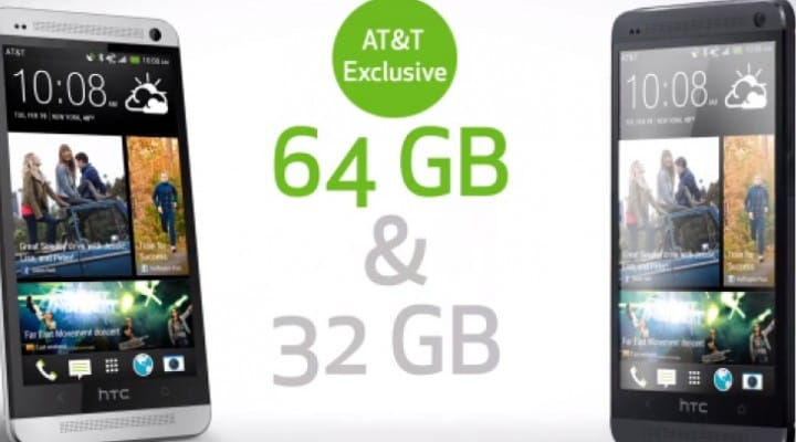 HTC One 64GB jealousy over AT&T exclusive
