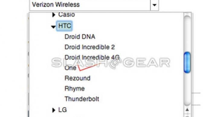 HTC One Verizon new evidence suggests release