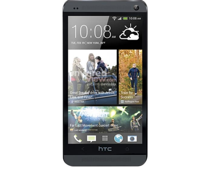 HTC One visual shows iPhone 5 similarities