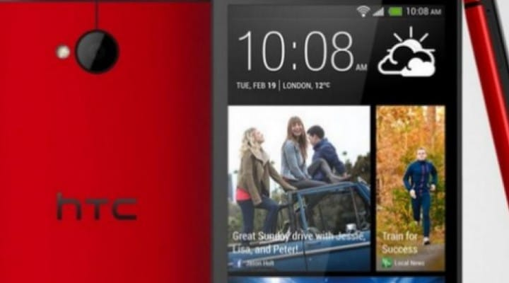 HTC One Red on Sprint brings US joy