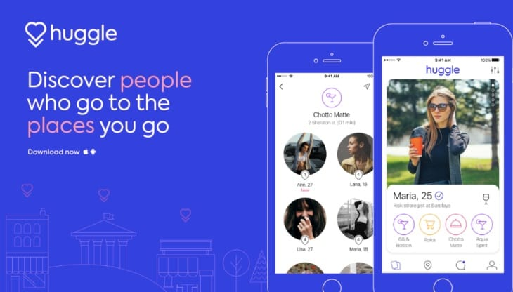 Huggle app on iOS, Android for friends not dating – Product