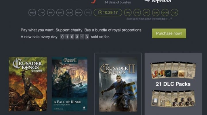 Humble Bundle countdown to greatness