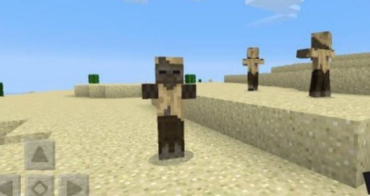 New Minecraft PE 0.15.0 Husk Mob feature confirmed
