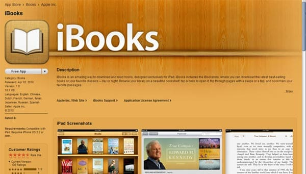 iPad mini event today features iBookstore launch