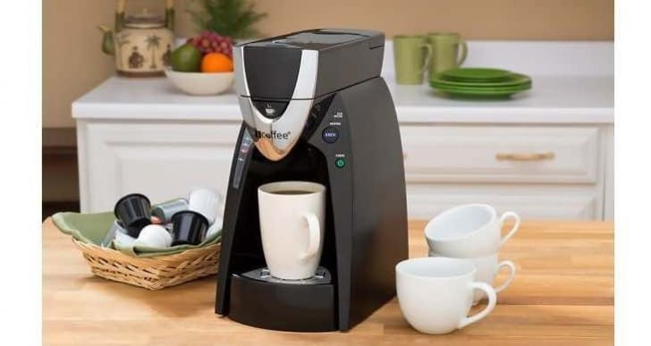 iCoffee Express single serve Coffeemaker with favorable reviews