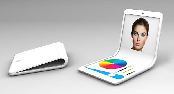 iFlex  flexible phone concept for 2013