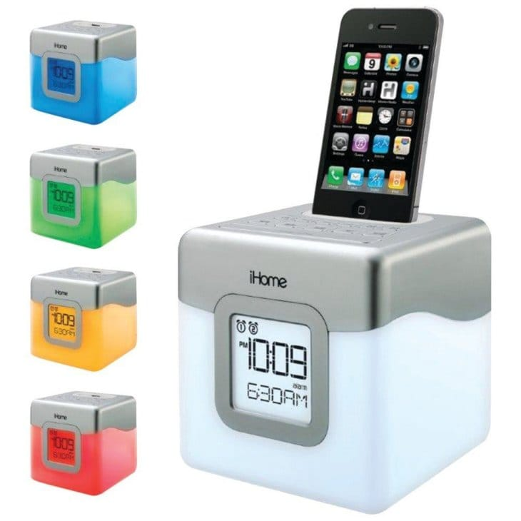 iHome iP18W Color-Changing iPod Dock