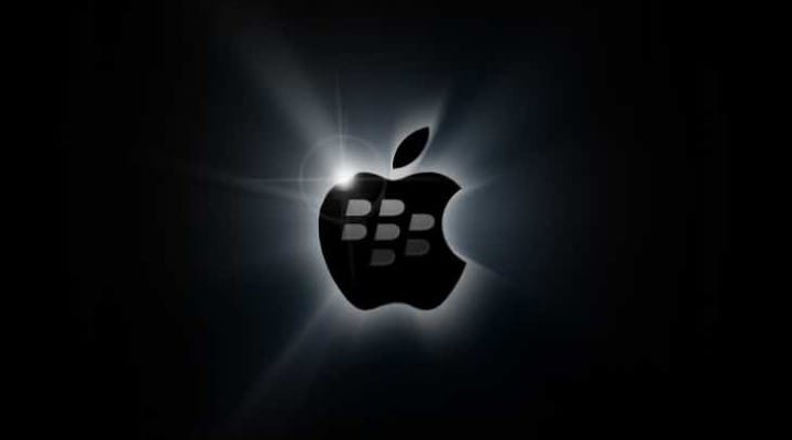 iMessage for BlackBerry has selfish intentions