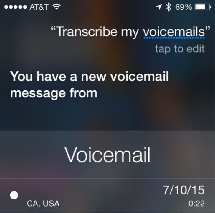 iOS 10 Siri improvements