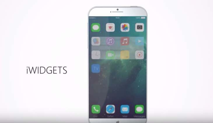 iOS 10 features on iPhone 7