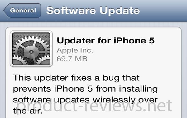iOS 6.0.1 update live, problems failed to fix?