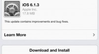 iOS 6.1.4 needs to be about new features not bugs