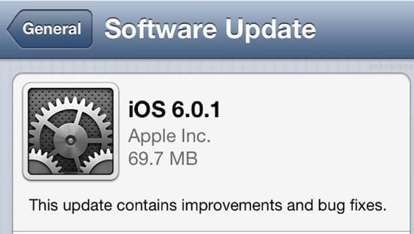iOS 6.0.1 update brings iPhone 4S battery issues