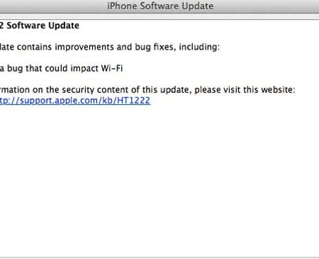 iOS 6.0.2 update remedies Wi-Fi leaves battery problems