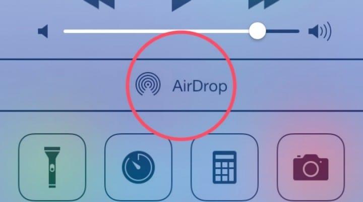 iOS 7 AirDrop distance varies