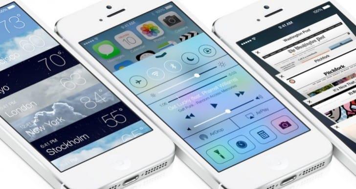 iOS 7 GM verses public release