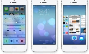 iOS 7 animation and transparency and ten new features