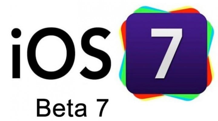 iOS 7 beta 7 release improbability before Gold Master