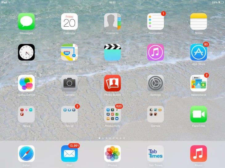Need for iOS 7 downgrade on school iPads