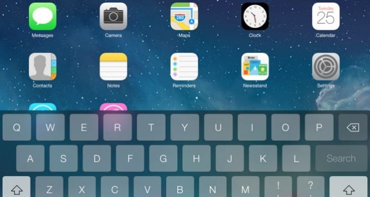 iOS 7 keyboard lag issues on iPad