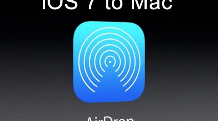 iOS 7 Airdrop to Mac alternative