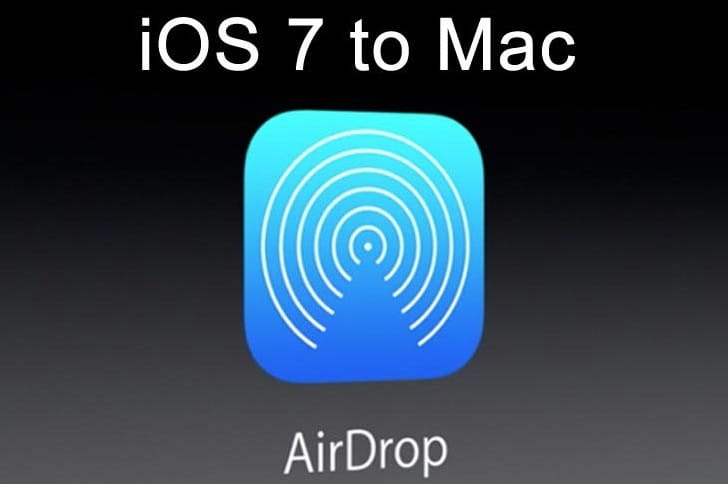 iOS 7 Airdrop to Mac alternative
