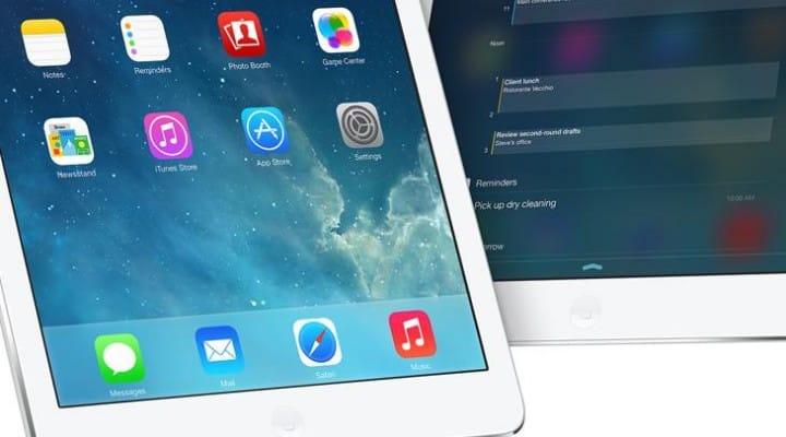 iOS 7.1 Beta 5 update highlights iPad changes