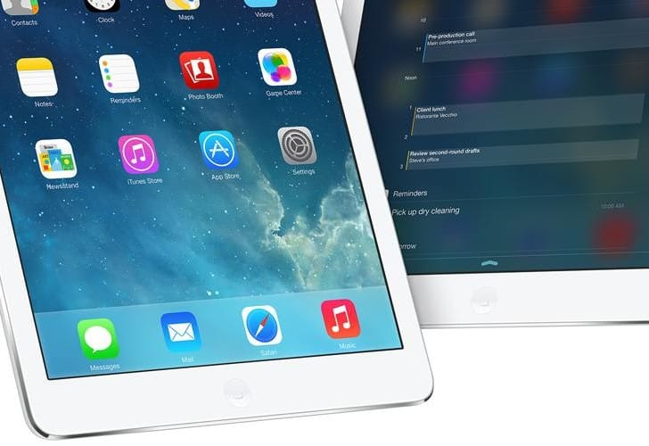 iOS 7.1 Beta 5 update highlights iPad changes