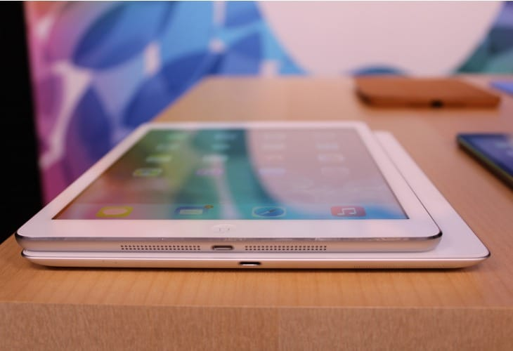 iOS 7.1 lacks iPad Air, Retina mini visual review