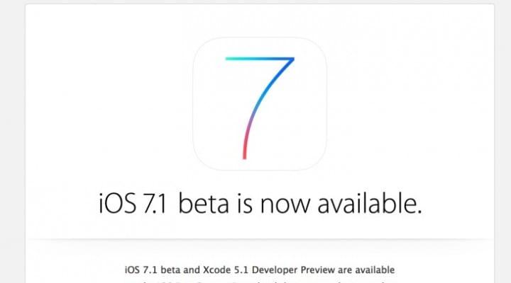 iOS 7.1 public release window