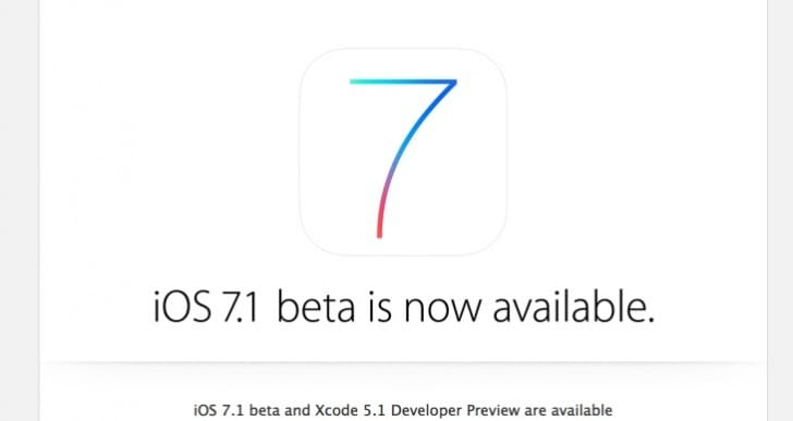iOS 7.1 public release window