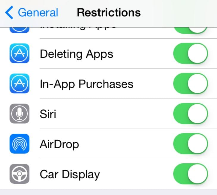 iOS 7.1 to include in the Car