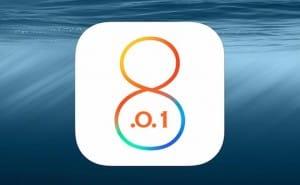 iOS 8.01 update problems mount