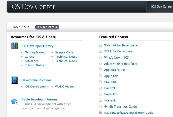 iOS-8-3-beta-4-8-2-1-update