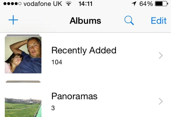 iOS 8 Camera Roll not missing