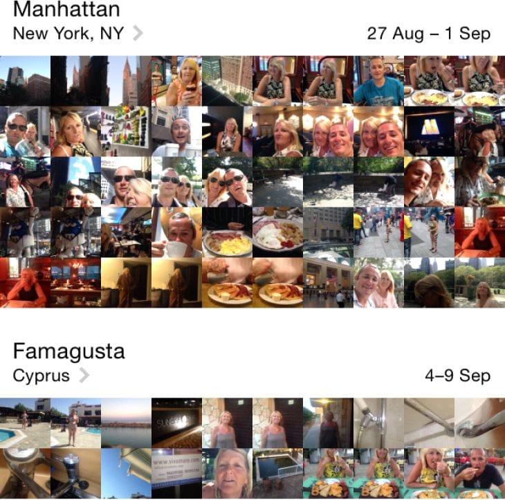 iOS 8 Camera Roll