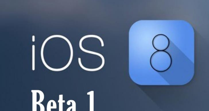iOS 8 beta 1 release notes in full