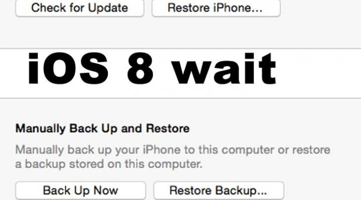 iOS 8 check for update during countdown