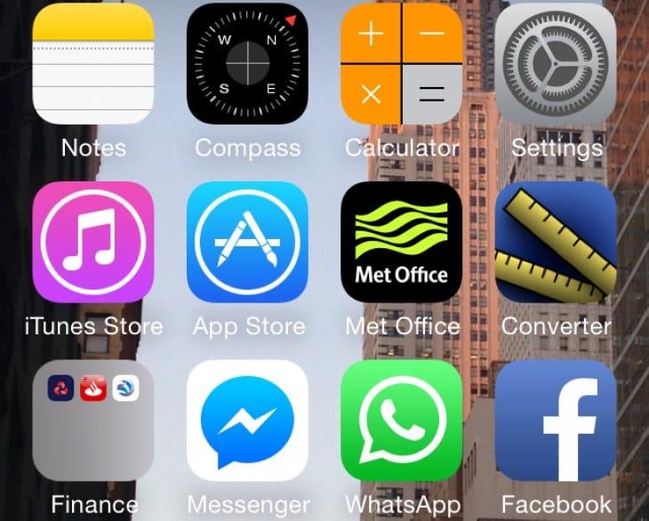 iOS 8 optimized apps