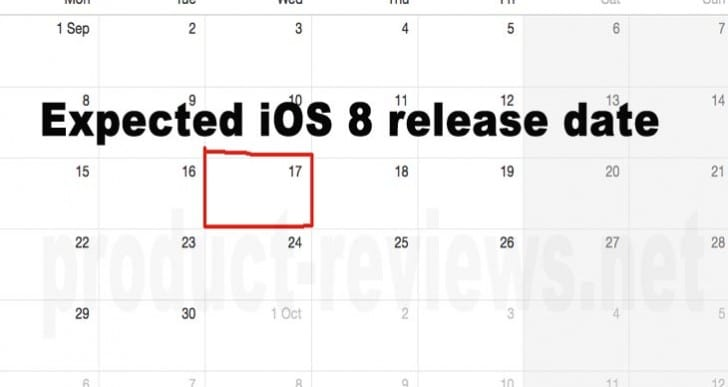 iOS 8 release date reiterated