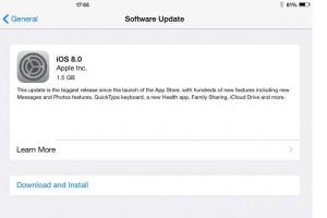 iOS 8 update: Keyboard issues hit iPad