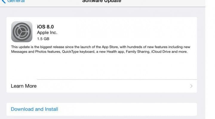 iOS 8 update: Keyboard issues hit iPad