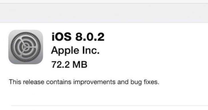 iOS 8.0.2 numerous problems after update