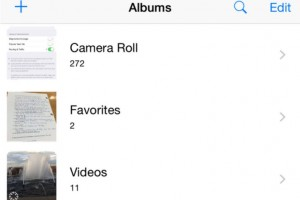 iOS 8.1 beta release notes live, Camera Roll back