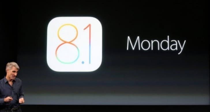 iOS 8.1 problems for early adopters