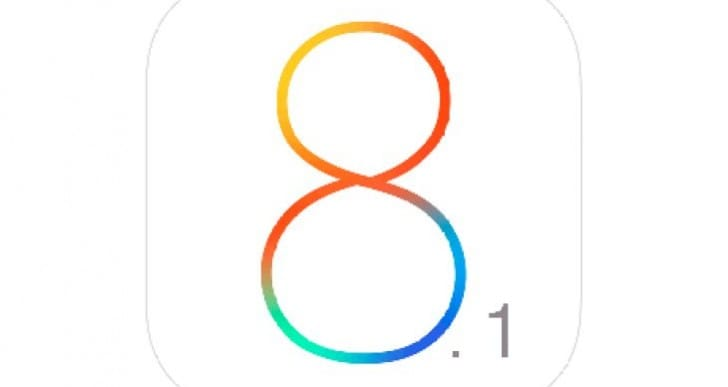 iOS 8.1 release date is Monday, Oct 20th