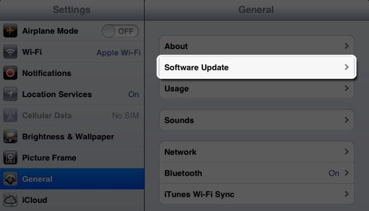 iOS 8.1.1 update concerns with install size